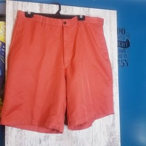 Mens Haggar Burnt Orange Shorts Size 38